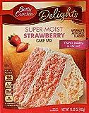 Betty Crocker Supermoist Strawberry cake mix 432g (15.25oz) pack of 1