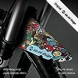 Riesel Design schlamm:PE MOUNTAINBIKE BANG Schutzblech Spritzschutz Fahrrad Vorderrad Federgabel | XC | MTB | MARATHON | FREE RIDE | 26