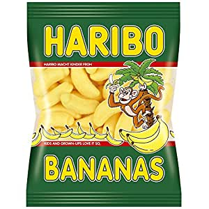 haribo bananas 200g schaumzuckerst cke mit bananen geschmack lebensmittel getr nke. Black Bedroom Furniture Sets. Home Design Ideas