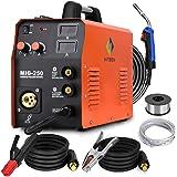 HITBOX poste à souder MIG 250A 230V MIG LIFT TIG poste a souder MAG, Soudeuse sans gaz/gaz, onduleur IGBT, courant de sortie