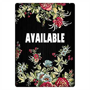 Mobo Monkey Designer Printed Back Case Cover for Apple iPad Air :: Apple iPad Air Wi-Fi + Cellular :: Apple iPad 5 (Available :: Text :: Typography :: Flowers :: Floral)