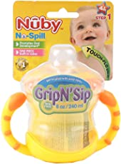 Nuby 240ml Grip-n-sip Cup (Colours May Vary)