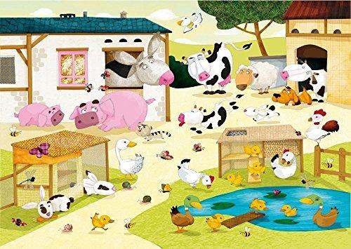 Puzzle Michele Wilson - La ferme Huette - Bois - W115-12
