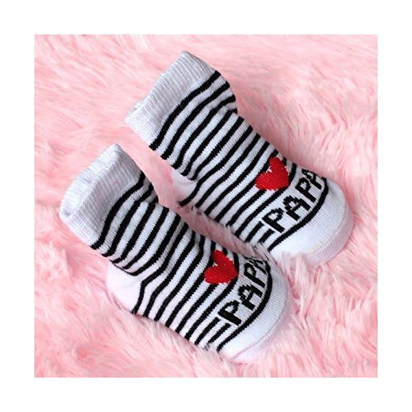 Outstanding® Lindo Calcetines de bebé Unisex del niño recién Nacido Suaves Calcetines de algodón 1