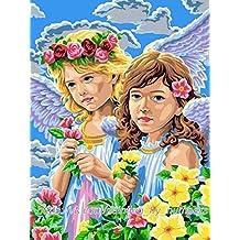 GMMH Diamond Painting Juego de 14x 18Diamante Pintura bordado mano Manualidades mosaicos Primavera niña