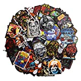 Product description: About the product: - Fashional star war stickers, 100 pieces PVC stickers, totally worth. - Cleaning the surface, then sticker on, use your imagination to create wo...