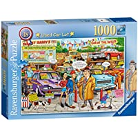Ravensburger Best of British No.18 - Used Car Lot, 1000pc Jigsaw Puzzle