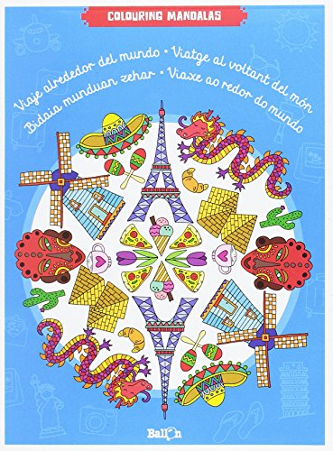 Viaje alrededor del mundo (Colouring Mandalas)