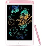 NOBES LCD Tablette D'écriture Coloré 8.5 Pouces, Ardoise Magique Tableau Portable pour l'écriture et Le Dessin sans Papier,En