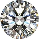 Piedra de diamante Moissanite genuino 2.00 Ct Piedra de diamante Moissanite blanco Corte excelente Piedra preciosa suelta