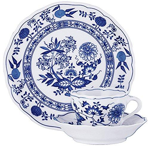 Rosenthal Hutschenreuther Blau Zwiebelmuster Gedeck 3-TLG. Blau Zwiebelmuster