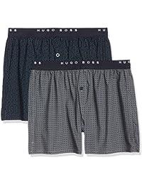 BOSS Hugo Boss Men's Woven Boxer EW Boxer Shorts Pack Of 2