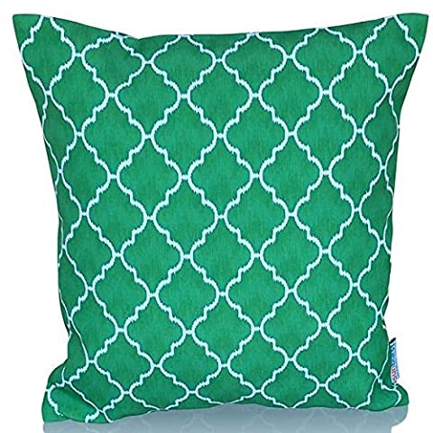 Sunburst Outdoor Living 45cm x 45cm SPECIAL Contemporary Decorative Throw Pillow Cushion Cover for Couch, Bed, Sofa or Patio - Only Case, No Insert