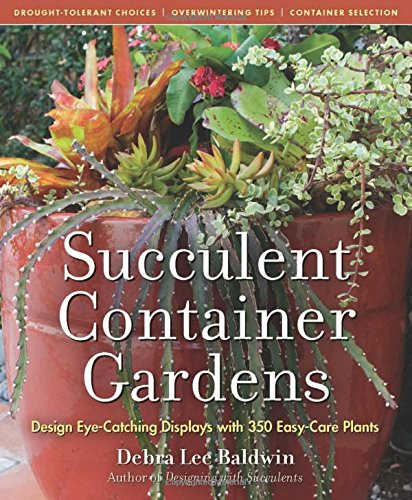 Succulent Container Gardens: Design Eye-Catching Displays with 350 Easy-Care Plants por Debra Lee Baldwin