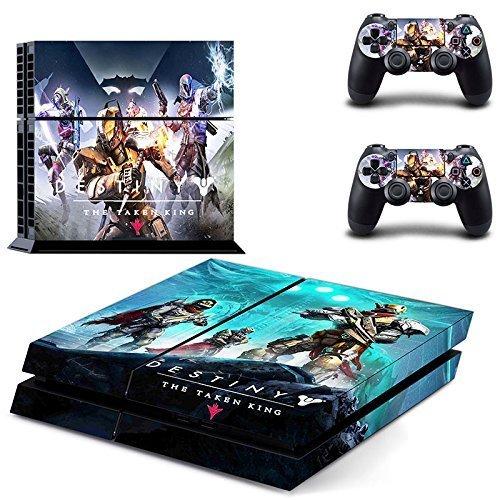 Lucky Store Skin / Aufkleber für Sony PS4 / PlayStation 4 / 2 Controller - Playstation Destiny 4 Konsole