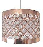 from Moda Moda Sparkly Ceiling Pendant Light Shade Fitting, Plastic/Metal, Copper Model 12396854