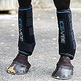Horseware Ice-Vibe Boot LED - Black Aqua, Größe:großes Warmblut (XL)
