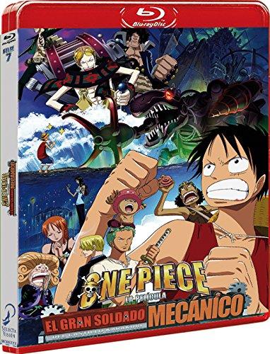 One Piece. Película 7. El Gran Soldado Mecánico Del Castillo Karakuri Blu-Ray [Blu-ray]