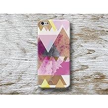 triangoli rosa Custodia Case per iPhone 4 5 5s SE X 6 6s 7 8 Plus Samsung Galaxy s8 s7 s6 s5 A5 A3 J5 Note Huawei P10 P9 P8 lite mate LG G6 G5 G4 Moto G5 G4 G2 Oneplus Sony Z5 Z3 M5 M4 HTC 10 M9 M8 A9