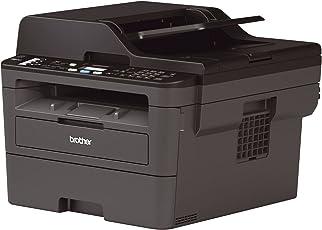 Brother MFC-L2710DW Kompaktes 4-in-1 S/W-Multifunktionsgerät (Drucken, Scannen, Kopieren, Faxen, A4, echte 1.200x1.200 dpi, Duplexdruck, 250 Blatt Papierkassette, USB 2.0, LAN, WLAN)