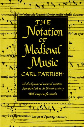 NOTATION OF MEDIEVAL MUSIC (Distinguished Reprints)