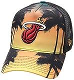 New Era Coastal Heat trck miahea–Casquette Ligne Miami Heat, Mixte Adulte, Multicolore (orgdkg)