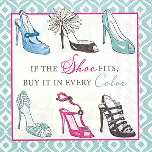 ideal-home-range-c711800-rosanne-beck-20-count-paper-cocktail-napkins-if-the-shoe-fits