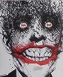Der Joker–Fledermäuse (Batman Villain)–Gerahmt Und montiert Bild–40,6cm H x 30,5cm W