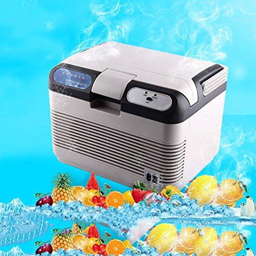 Réfrigérateur De Voiture De 15L, Réfrigérateur Spécial De Réfrigérateur Portatif De Réfrigérateur De Mini Réfrigérateur De Camion De Chauffage Et De Refroidissement 12/220 / 240V