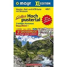 Hochpustertal XL (2-Karten-Set): Wander-, Rad- und Skitourenkarte. GPS-genau. 1:25000 (Mayr Wanderkarten)