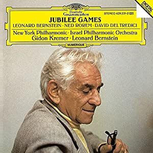 "Del Tredici : Tatoo / Rorem : Concerto pour violon / Bernstein : Concerto pour orchestre (""Jubilee Games"")"