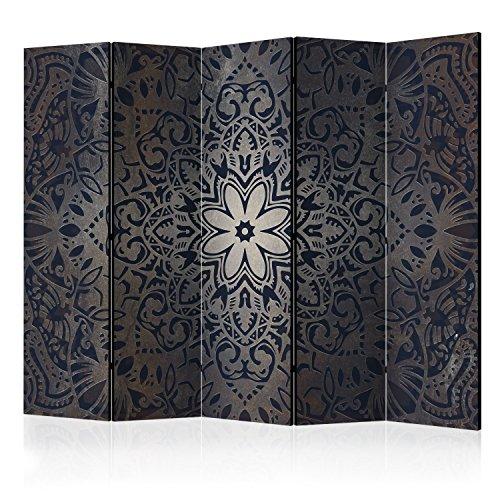 murando Biombo con Tablero de Corcho Mandala 225x172 cm de impresión en el Lienzo de TNT Foto Biombo Decorativo para Interiores f-A-0508-z-c