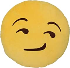 Ntisha Emoji Attitude Smile Pillow Pack-1