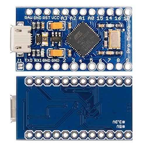 XCSOURCE® Pro Micro ATMEGA32U4 Tarjeta módulo 5V