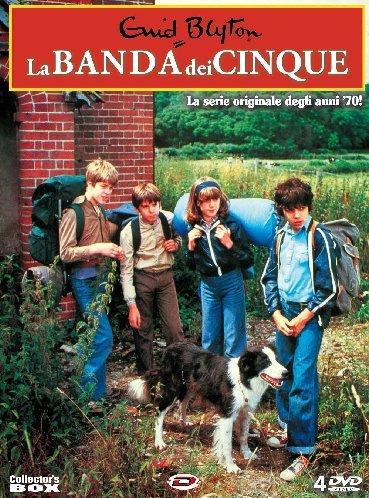 La banda dei cinque(collector's box+libro)Episodi01-26