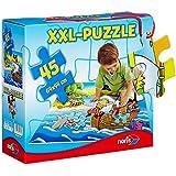 Noris Spiele 606034960 - Piraten Riesenpuzzle, 45 Teile