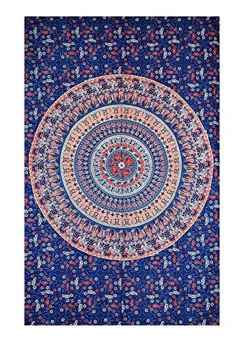 Sophia Kunst-Twin Camel Mandala Wandteppich, indisches Hippie Wand aufhängen, Bohemian Wand aufhängen, Schlafsaal, Trennwand Picknickdecke (Multi)