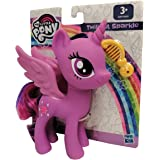 Hasbro My Little Pony E6847 Twilight Sparkle - Figura de juguete con pelo peinable, 15 cm, para niños