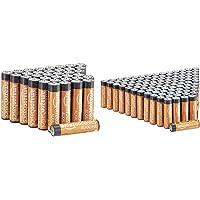 Amazon Basics AAA-Alkalibatterien, leistungsstark, 1,5 V, 36 Stück (Aussehen kann variieren) & AA-Alkalibatterien…