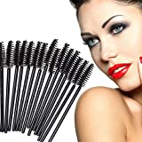 Domybest 100pcs jetable Brosse Cils Mascara Wand Applicateur Spoolers Maquillage