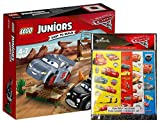 LEGO Juniors 10742 – rasante Training tondi in der teufelsscchanze, Disney Auto + Cars Sticker...