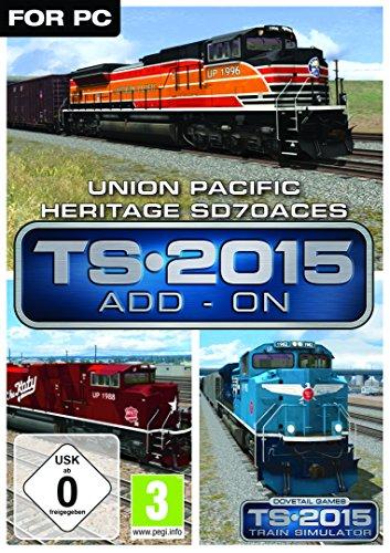 Union Pacific Heritage SD70ACes Loco AddOn