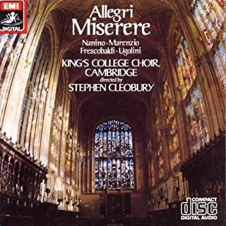 Allegri - Miserere - Music of 16th-Century Rome