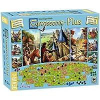 Devir - Carcasonne - Plus, incluye el juego básico y 11 expansiones (BGCARPLUS3)