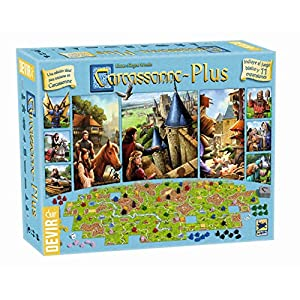 Devir – Carcasonne Plus, juego básico + 11 expansiones (BGCARPLUS3)
