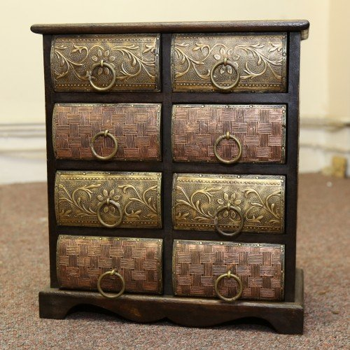 JUGS Indian Furniture Indian Small Storage Chest
