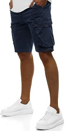 OZONEE Herren Jeans Shorts Bermuda Hose Kurz Herrenjeans