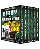 Diary of Minecraft Skeleton Steve the Noob Years - FULL Season One (1): Unofficial Minecraft Books for Kids, Teens, & Nerds - Adventure Fan Fiction Diary ... Mobs Series Diaries - Bundle Box Sets 6