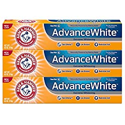 Arm & Hammer Advance White Toothpaste, Fresh Mint, 1.32 Pound (Pack of 3)