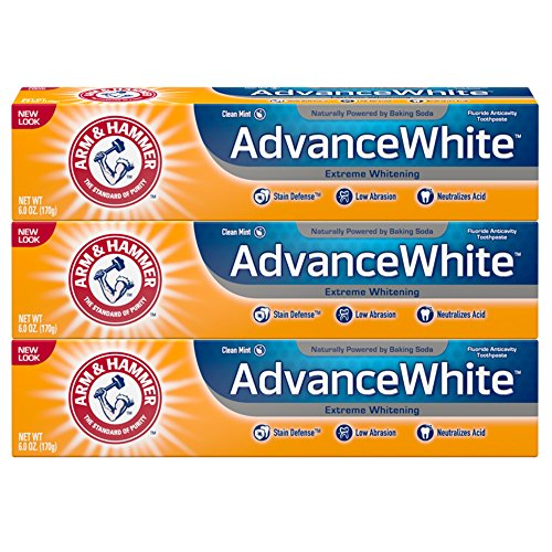 Arm and Hammer Advance White Extreme Whitening with Stain Defense - 6 Oz, 3 Pack by Arm & Hammer